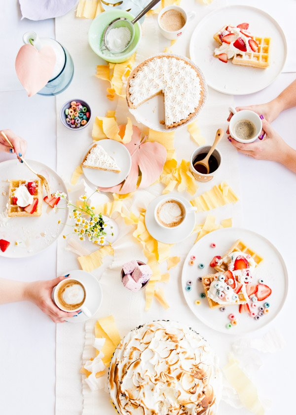 Colorful Mother's Day Brunch Filled with DIY Party Ideas