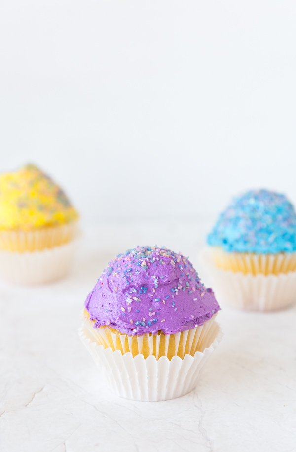 Colorful cupcakes!