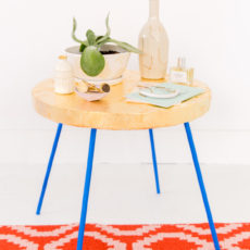 Golden Child: How to Gold Leaf Pretty Much Anything (Including a $20 Side Table)