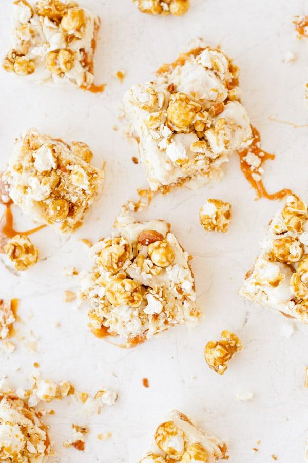 caramel cracker jack fudge recipe