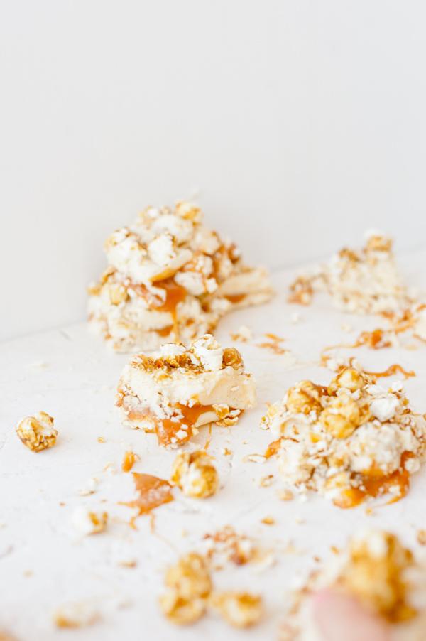 Cracker jack caramel fudge recipe