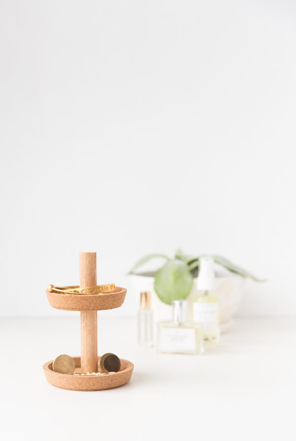 Ikea Hack: DIY Two Tier Jewelry Stand