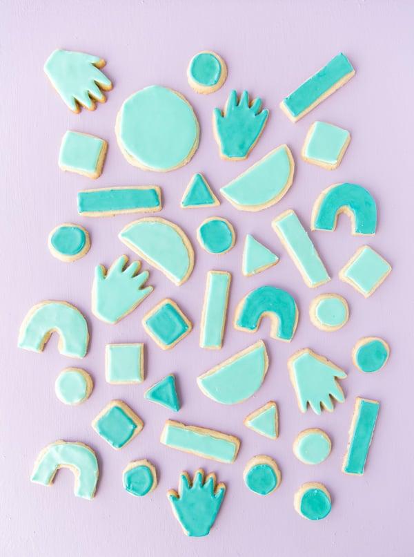 Iced sugar cookie recipe