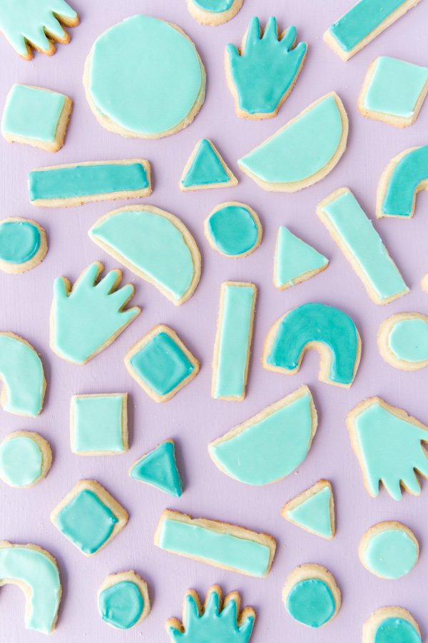 Iced sugar cookie recipe