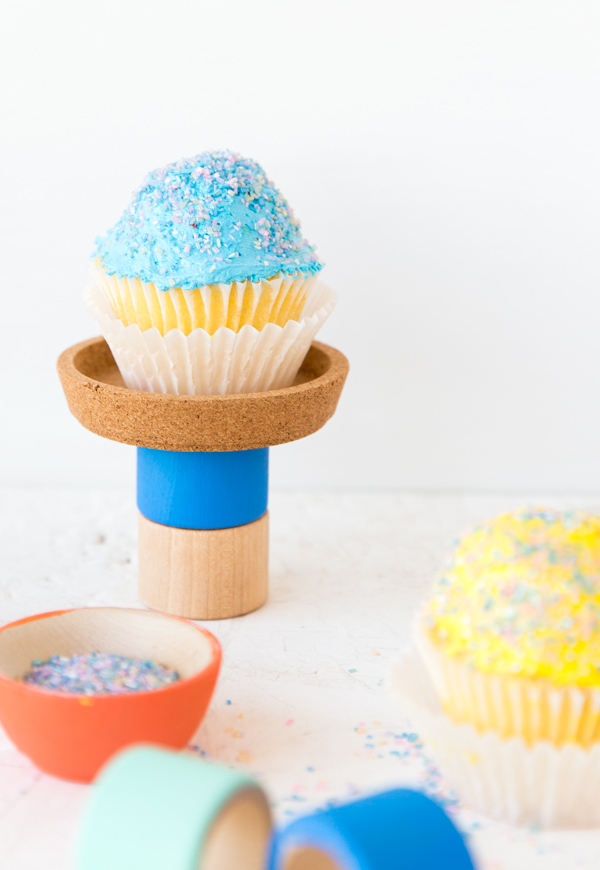 Ikea Hack: A DIY Cupcake Stand that Only Costs $2 to Make