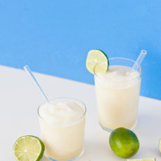 Gin and Juice Slushies (with Homemade Gin)