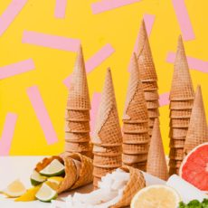 Obey the Sorbet: A Colorful DIY Sorbet Bar with 3 Limited Ingredient Recipes