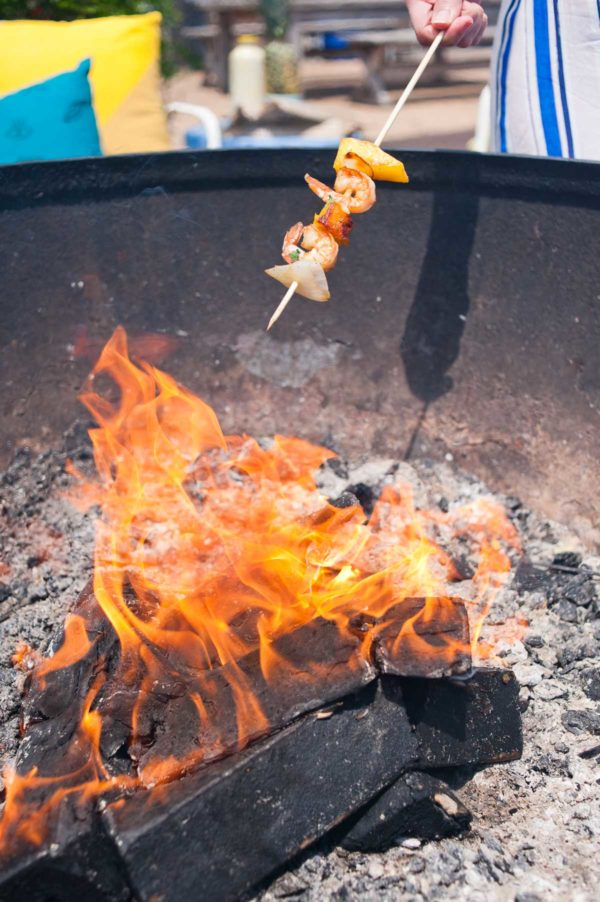 Outdoor summer entertaining ideas and recipes