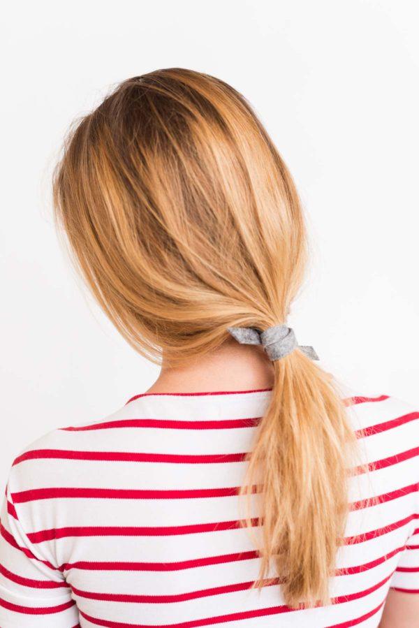 Effortless ponytail hair tutorial  (in 3 minutes)
