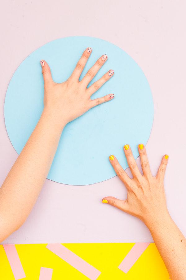 DIY Polka Dot Nail Art Tutorial (So Easy)