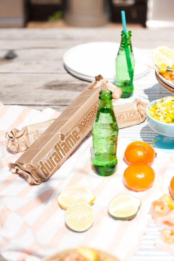 Outdoor summer entertaining ideas and recipes with @Duraflame