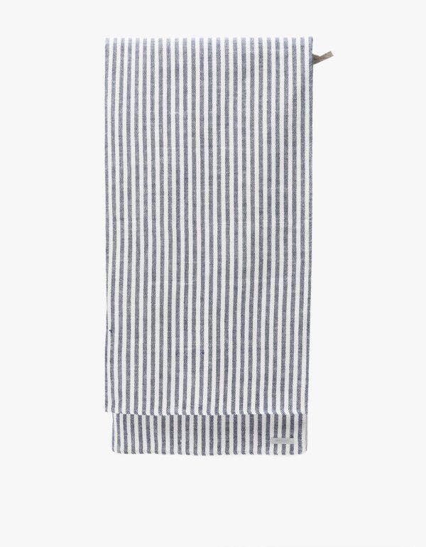 Fog linen chambray beach towel