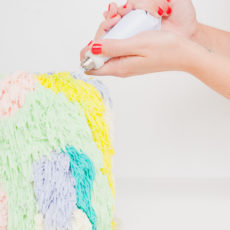 Pipe Down: A DIY Cake Piping Technique Inspired by Woven Wall Hangings