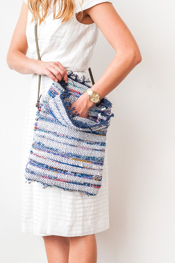 How To Make A Diy Cross Body Bag For Under 10 Paper And