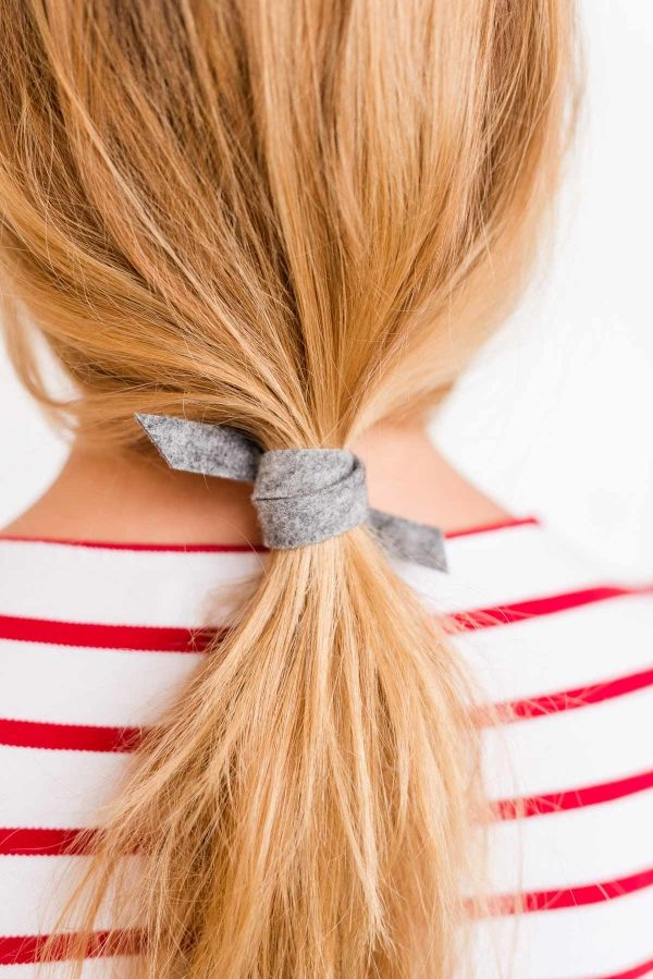 lEffortless DIY ponytail in 3 minutes