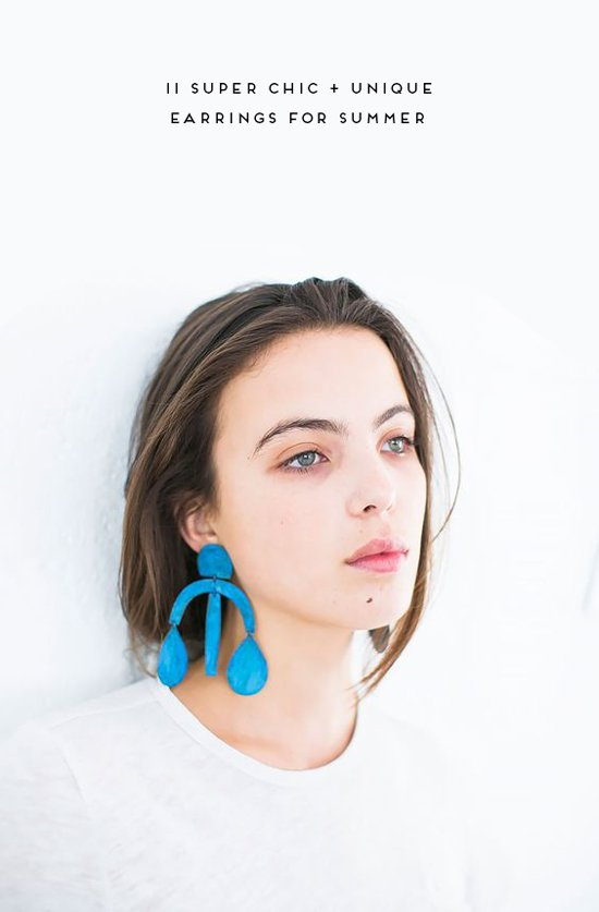 11 Chic + Unique Earrings for Summer