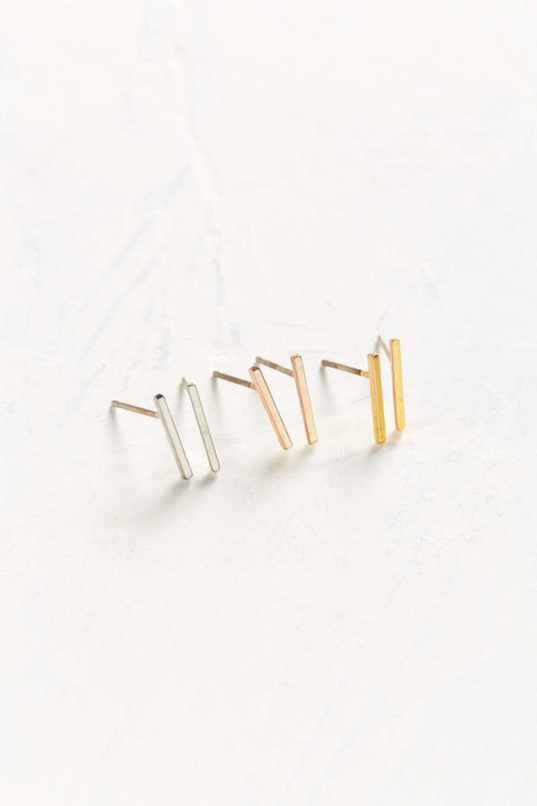 miles bar post earrings from Urban Outfitters