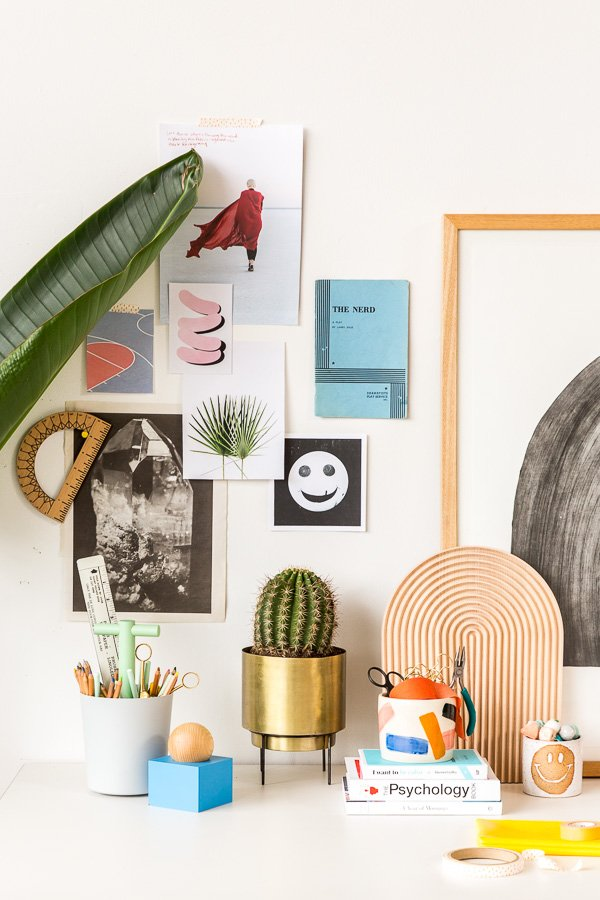 Interior Obsessions // Cool Desk Styling Inspired by Back to School