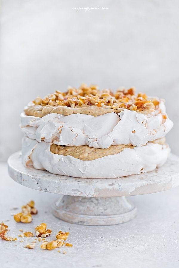 peanut butter meringue cake
