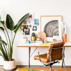 Interior Obsessions: Cool Desk Styling Inspired by Back to School