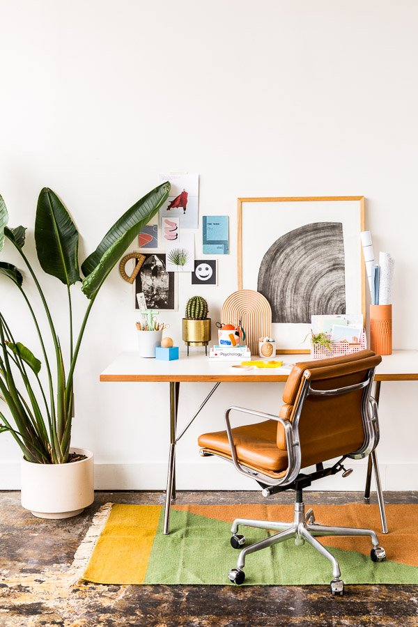 Interior Obsessions // Quirky Cool Desk Styling Inspired by Back to School