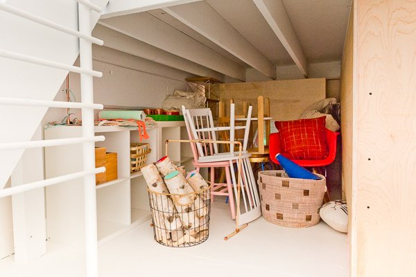 Before and After: Modern DIY Seating and Storage Makeover