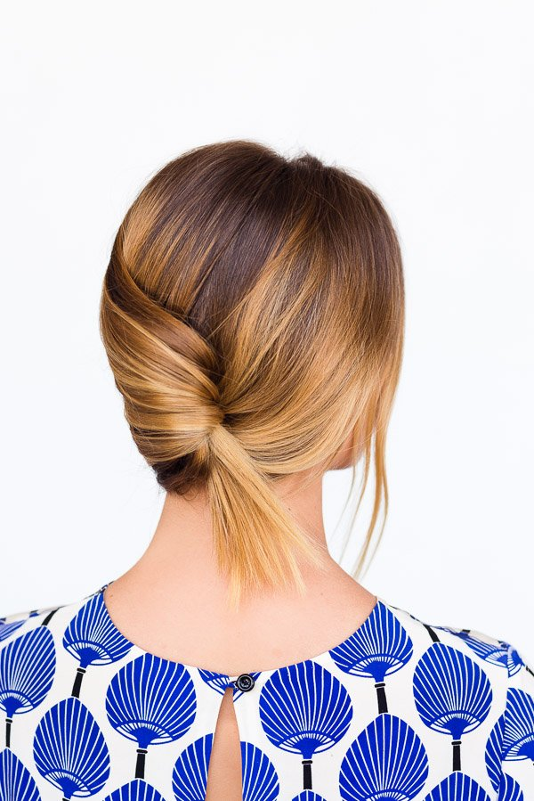 Casual summer french twist (hair tutorial)