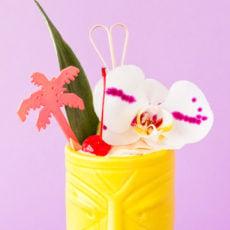 Tiki Time: A Coconut Creamsicle Cocktail Recipe
