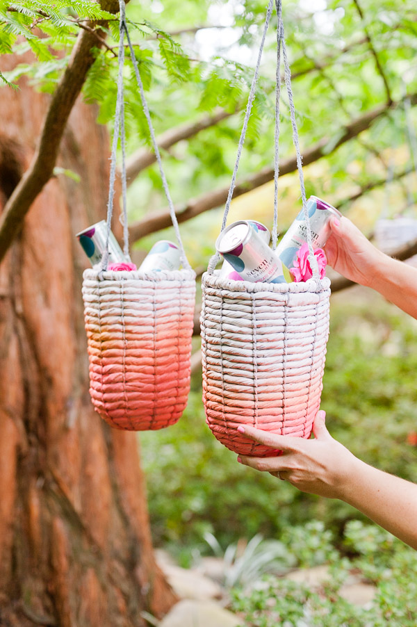 DIY Labor Day Idea: Hanging Ice Chests for Keeping Drinks Cool