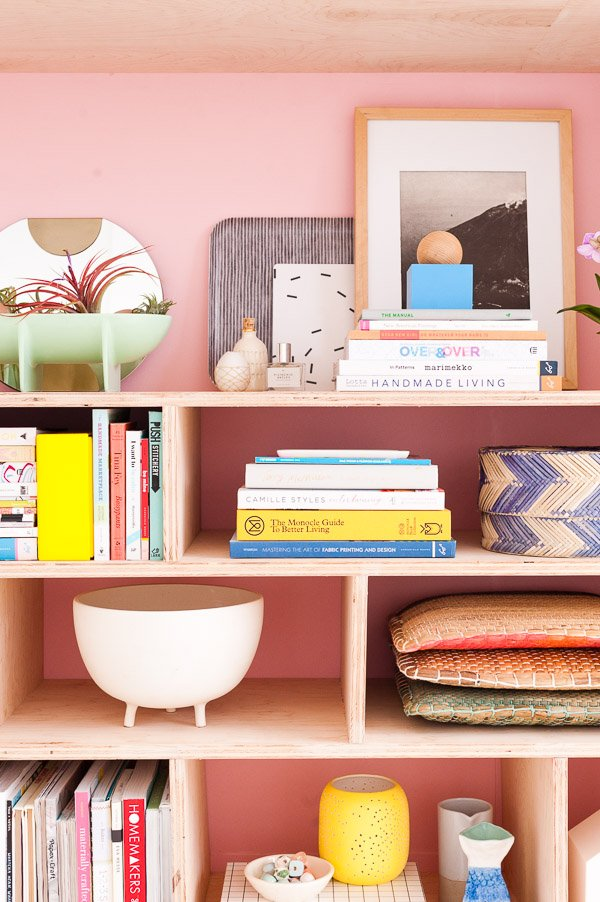 A Modern DIY Seating and Storage Makeover