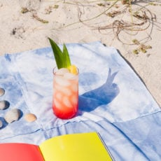 Patch It Up: A DIY Shibori Patchwork Picnic Blanket / Beach Towel