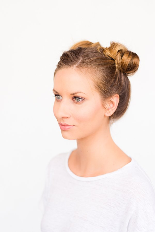 Two Buns are Better Than One // A Double Bun Hair Tutorial in 5 Minutes