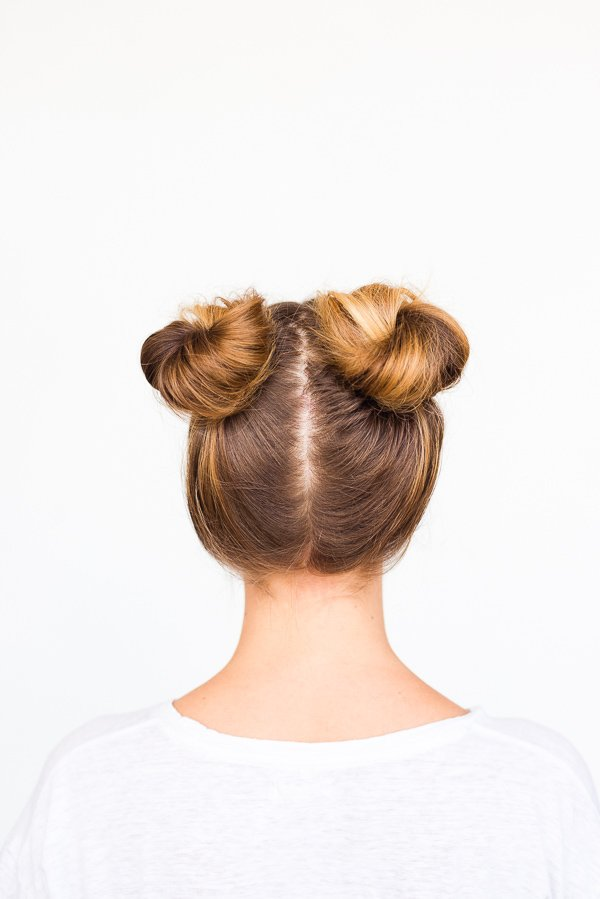 Two Buns Are Better Than One Double Bun Hair Tutorial