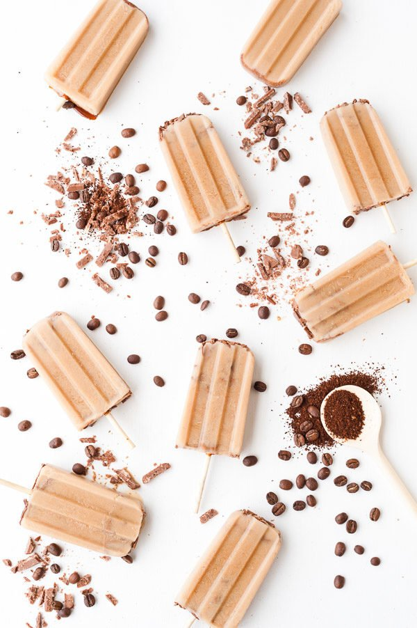 The Easiest Iced Coffee Popsicles Recipe