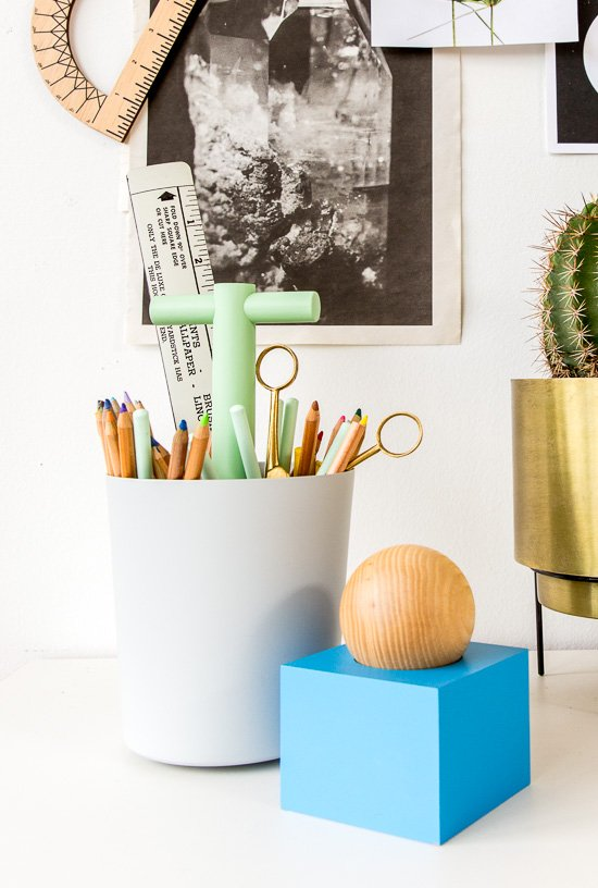 Cool Desk Styling Inspired by Back to School