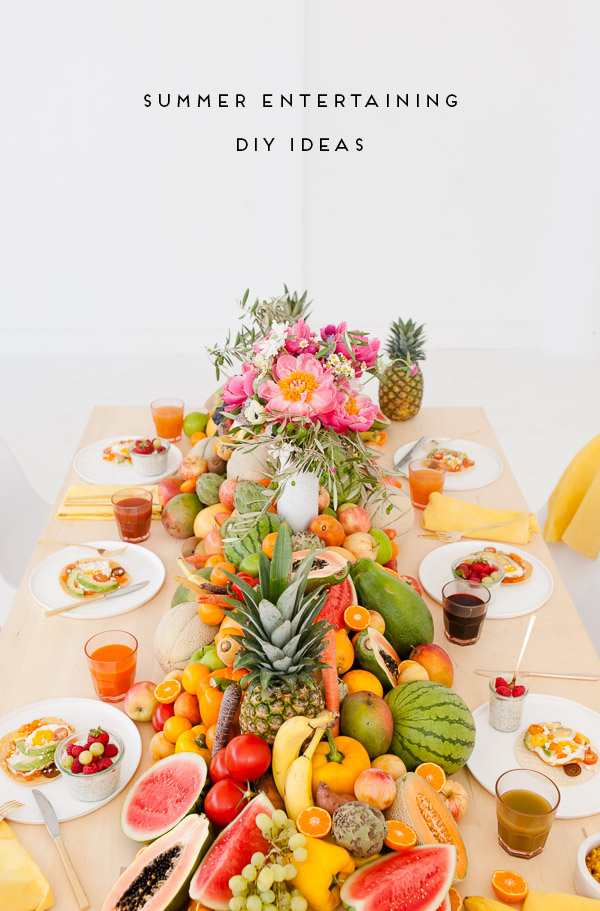Fresh Summer Entertaining Ideas