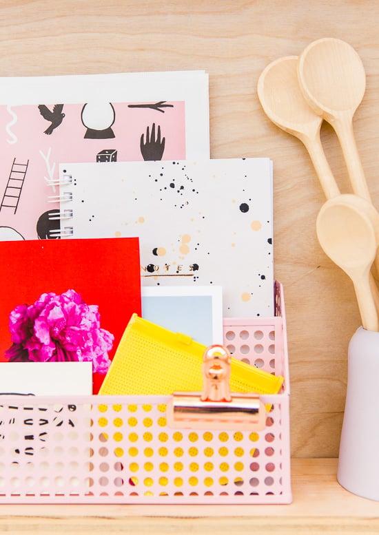 Weekend DIY Idea: How to Create Modern Plywood Shelving Organization