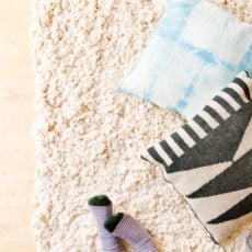 How to Make a DIY Rug from Scratch