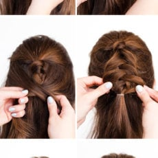 Pony Up: A Half Up Pony Braid Hair Tutorial