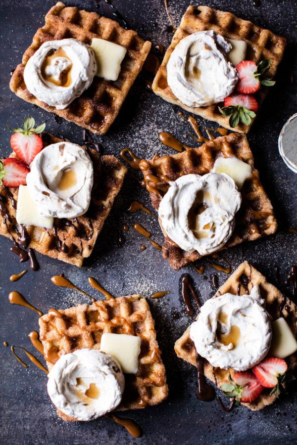 churro waffles
