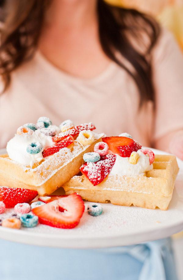breakfast cereal waffles