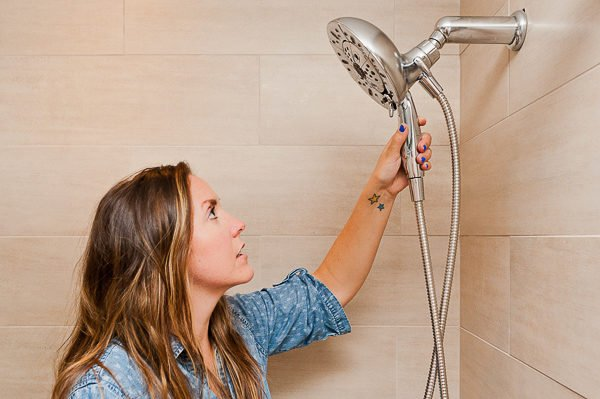 How to switch out a shower head in 5 minutes