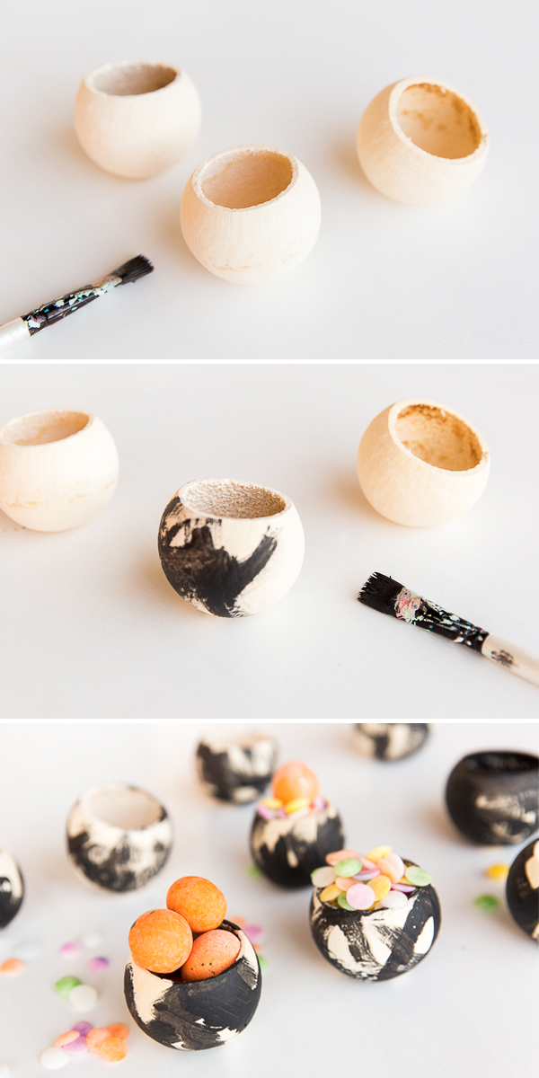 2 Minute Party Hack: Tiny Watercolor Candy Cups for Parties