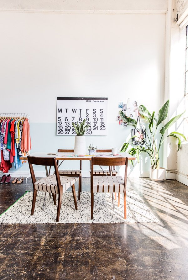 Peek inside the studio of Paper & Stitch founder, Brittni Mehlhoff..