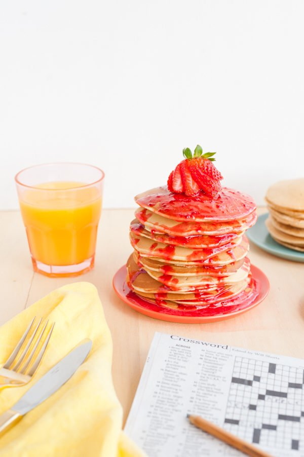 Peanut butter and jelly pancakes recipe peanut butter and jelly pancakes ccuart Choice Image