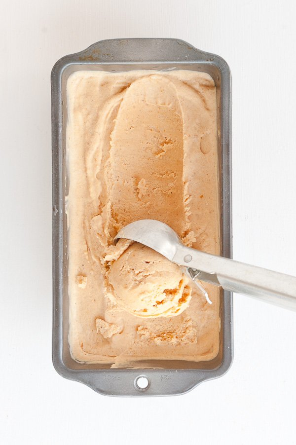 Pumpkin pie ice cream. Click through for the recipe.