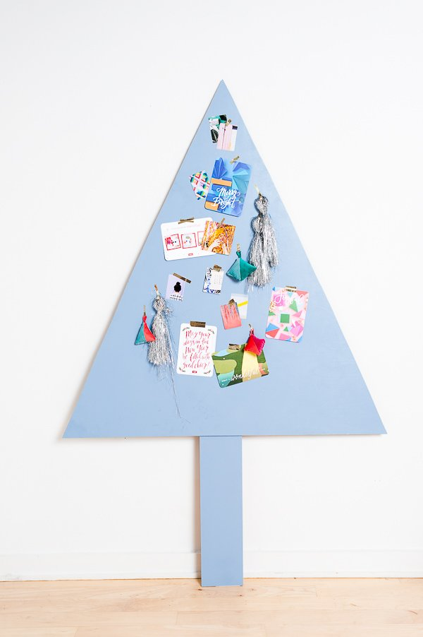 How to make a space-saving Christmas tree that converts for year round use