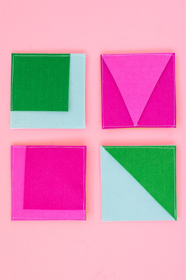 Color Blocked Gift Wrap