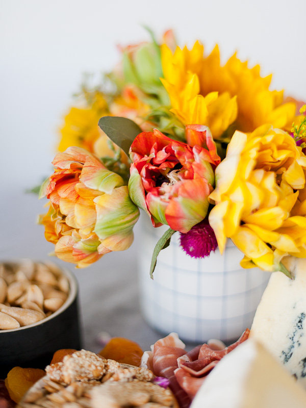 DIY grocery store florals