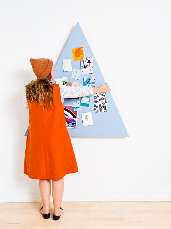 Space-Saving DIY Christmas Tree Idea that Converts for Year Round Use